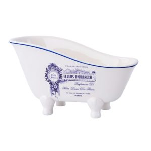 אמבטיה פורצלן כחול SAVON