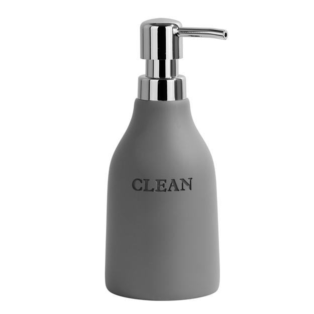 דיספנסר מונח לסבון נוזלי CITY אפור
