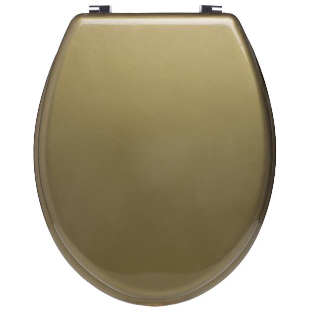 מושב אסלה עץ זהב מט