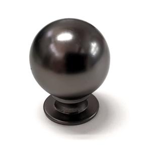 ידית כפתור עגול לארון מטבח דגם K-9091 אפור גרפיט