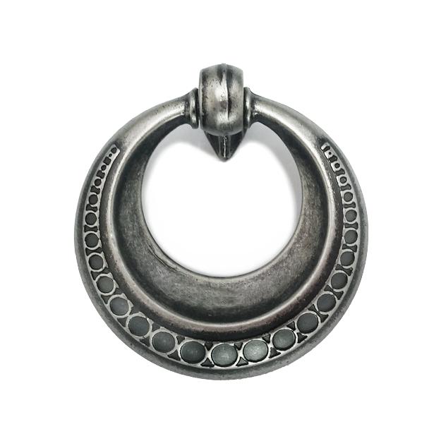 ידית טבעת מעוצבת דגם 3128 כסף עתיק