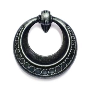 ידית טבעת מעוצבת דגם 3128 מושחר עתיק