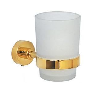כוס למברשת שיניים VITA זהב