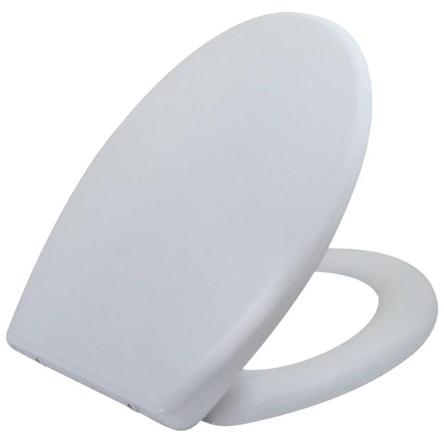 מושב אסלה טריקה שקטה לבן