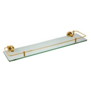 מדף זכוכית VITA זהב