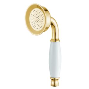 מזלף למקלחת טלפון רטרו זהב מבריק