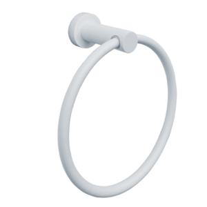 טבעת למגבת פנים VOLTA לבן