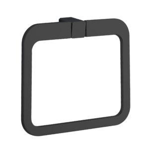 טבעת למגבת INKA שחור מט