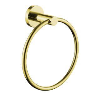 טבעת למגבת פנים VOLTA זהב מט