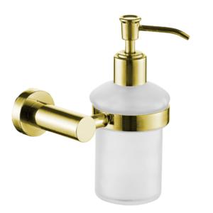 דיספנסר לסבון נוזלי תלוי VOLTA זהב מט