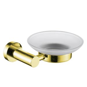 סבוניה לסבון קשיח תלויה VOLTA זהב מט