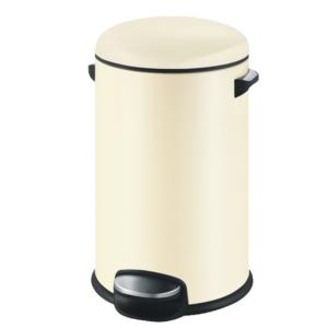 פח אשפה עגול 30 ליטר שמנת סגירה שקטה