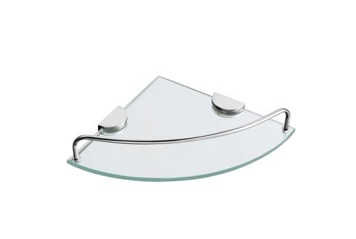 מדף זכוכית פינתי S721
