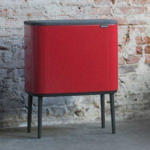 פח אשפה למטבח 36 ליטר BO BRABANTIA אדום