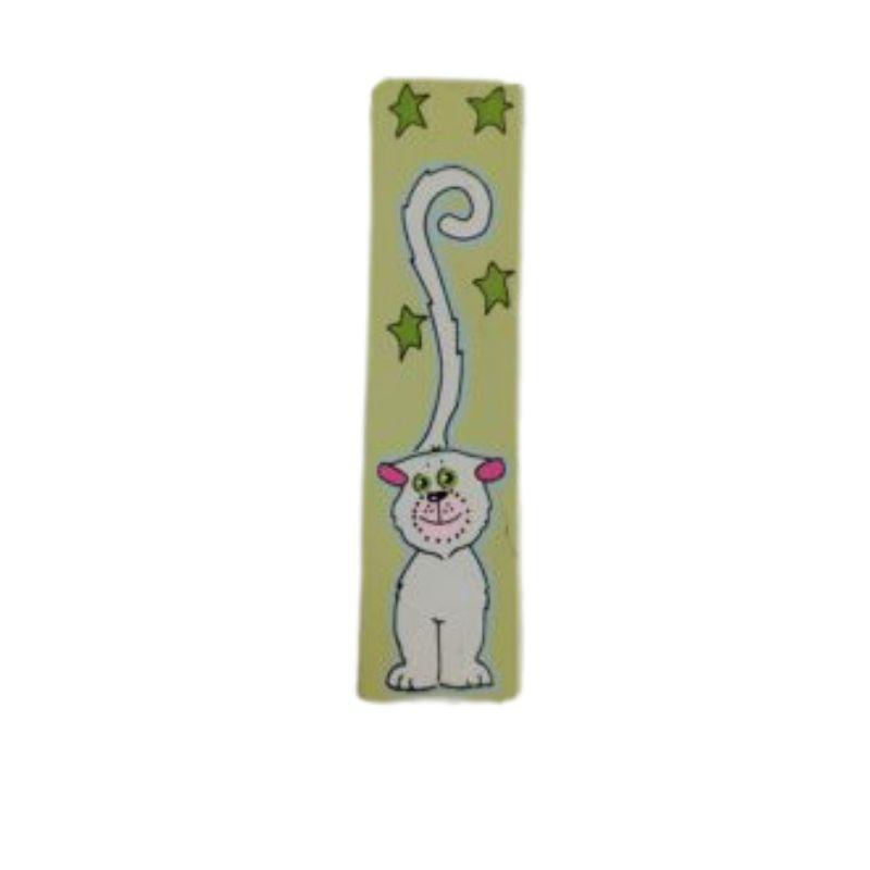 """ידית לארון ילדים חתול ירוק K24 מ""""מ 96"""