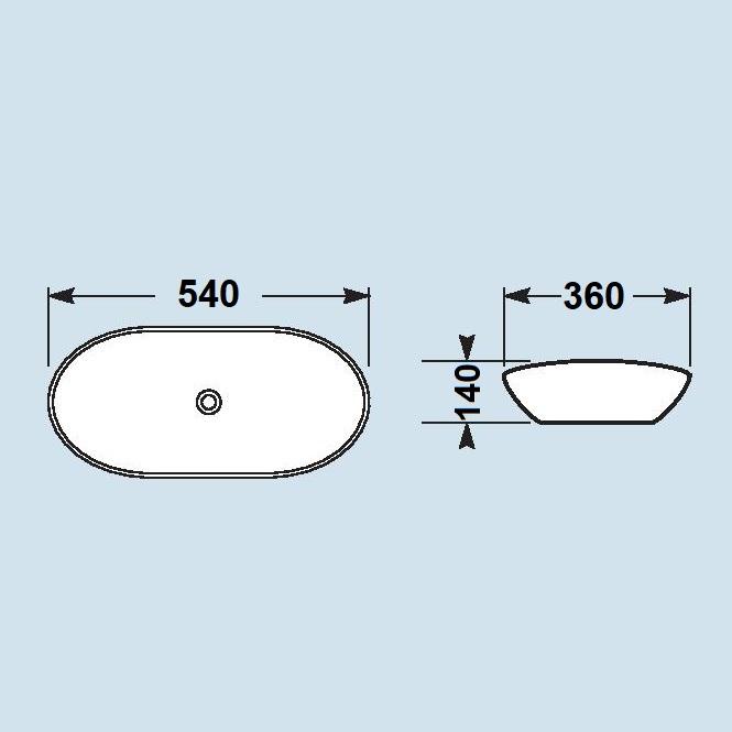 כיור אמבטיה מונח
