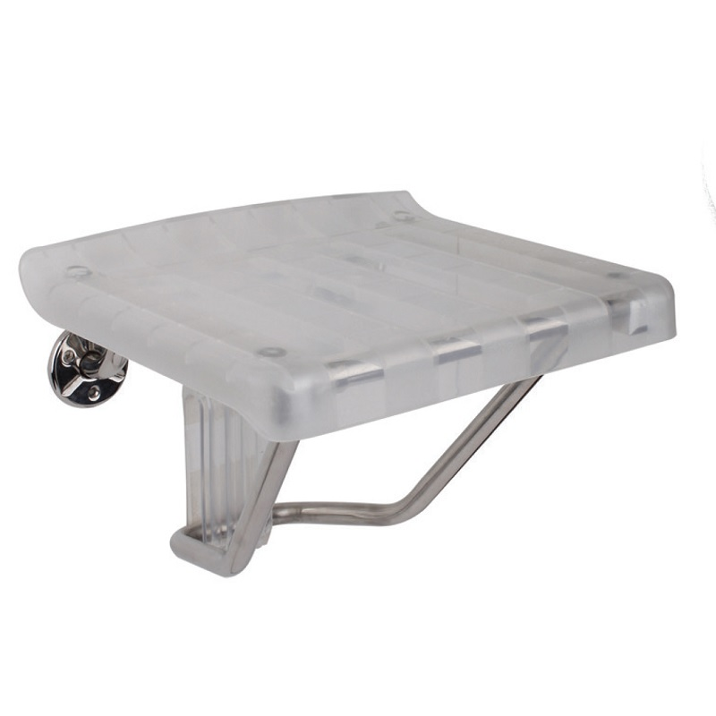 """כסא מתקפל למקלחת פלסטיק 38/34 ס""""מ"""