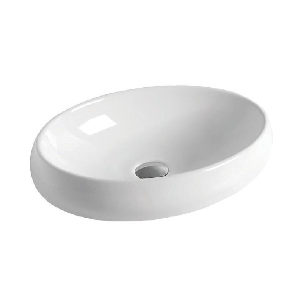 כיור אמבטיה מונח לבן 60/40