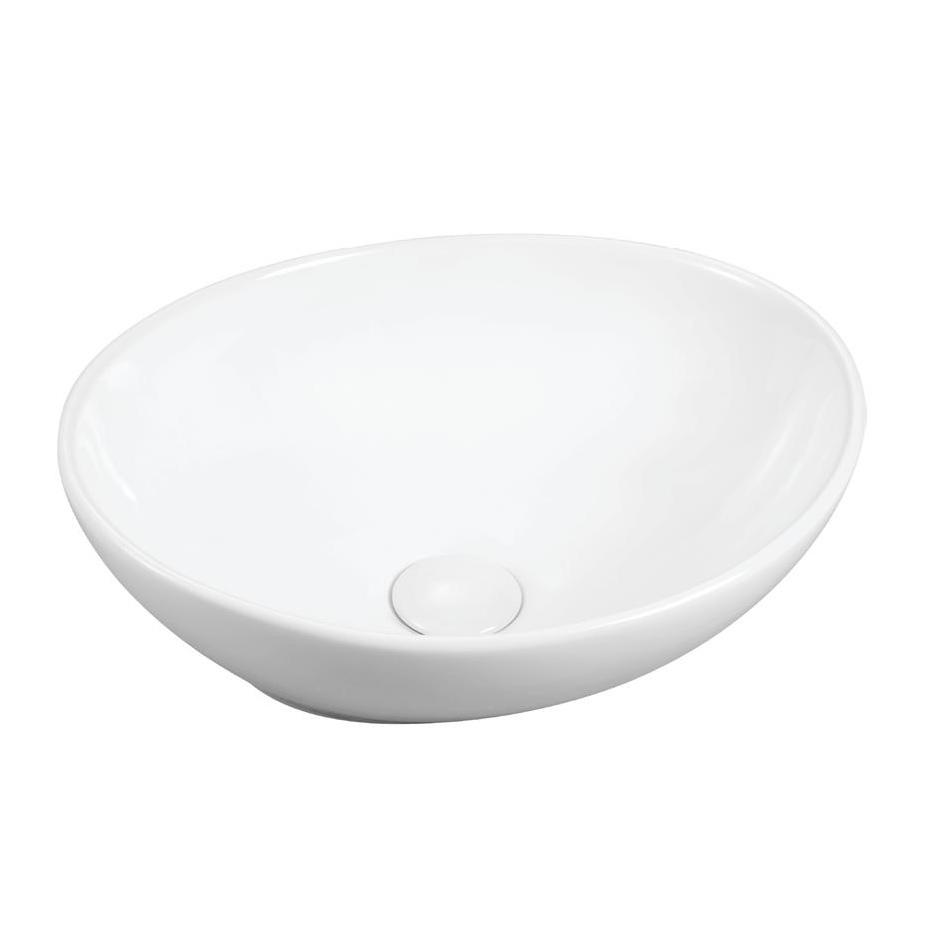 כיור אמבטיה מונח לבן 40/33