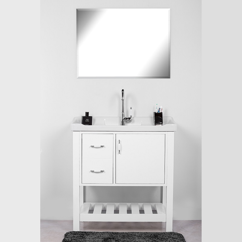 ארון אמבטיה מילאנו 80/47 אפוקסי לבן