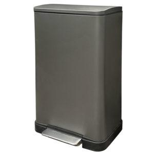 פח אשפה למטבח 45 ליטר מלבני גרפיט JAVA