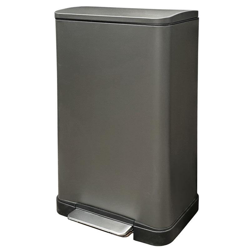 פח אשפה למטבח 30 ליטר מלבני גרפיט JAVA