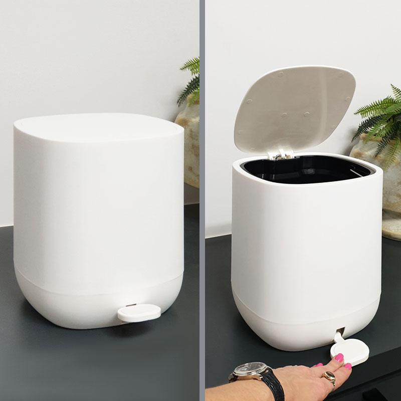 פחים לאמבטיה 5 ליטר לבן