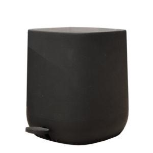 פח אשפה מעוצב 5 ליטר CITY שחור מט