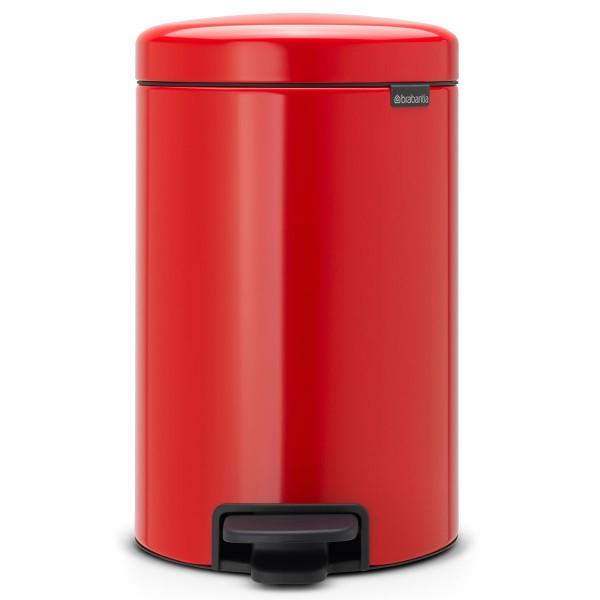 פח פדל NewIcon – אדום 12 ליטר BRABANTIA Y112003