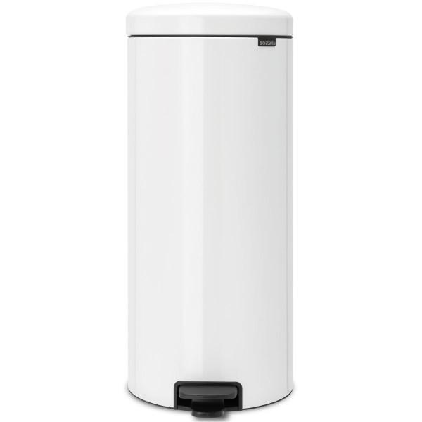 פח פדל 30 ליטר NewIcon – לבן BRABANTIA Y111785