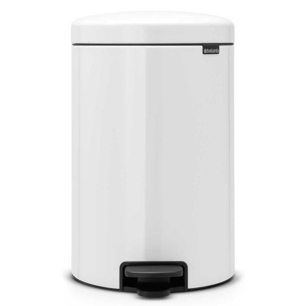פח פדל NewIcon – לבן 20 ליטר BRABANTIA Y111846