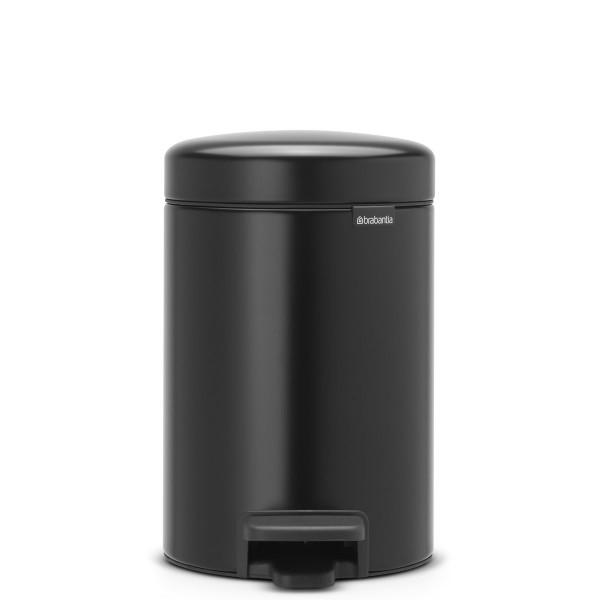 פח פדל קטן NewIcon שחור 3 ליטר Y-113321