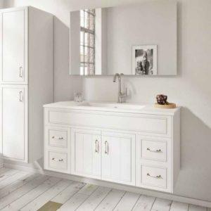 ארון אמבטיה כפרי תלוי אפקוסי דגם ביאנקה