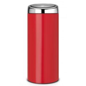 פח אשפה טאץ 30 ליטר אדום Limited Edition-Brabantia Y483844