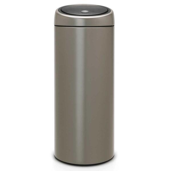 פח אשפה טאץ 30 ליטר פלטינום Limited Edition-Brabantia Y402760