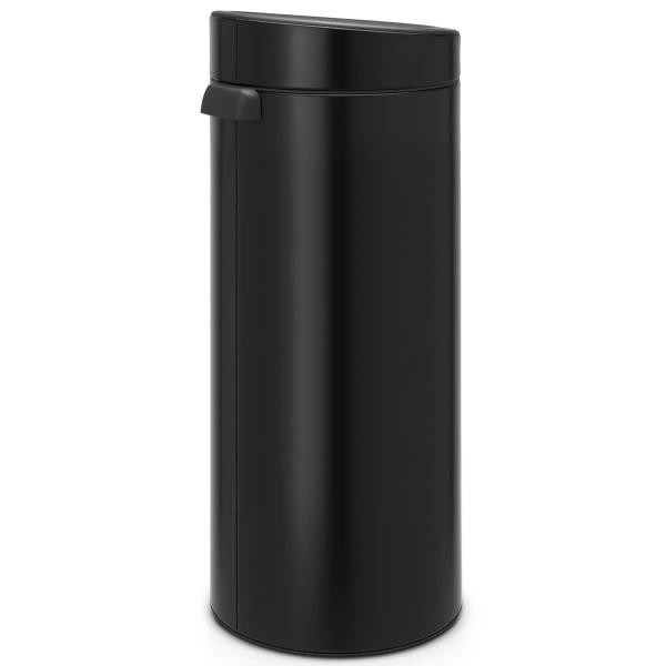 פח טאצ עגול 30 ליטר שחור Y-115301 באטיקו BATICO 1