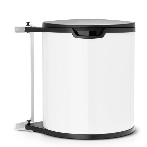 פח אשפה פנימי למטבח – מתחת לכיור 15 ליטר לבן Brabantia Y428081