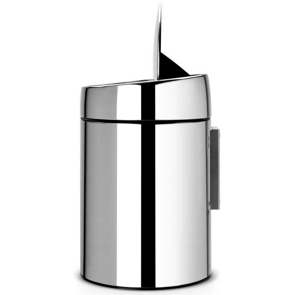 פח סלייד 5 ליטר אפור מבריק מכסה מבריק Y-477560 באטיקו BATICO 2