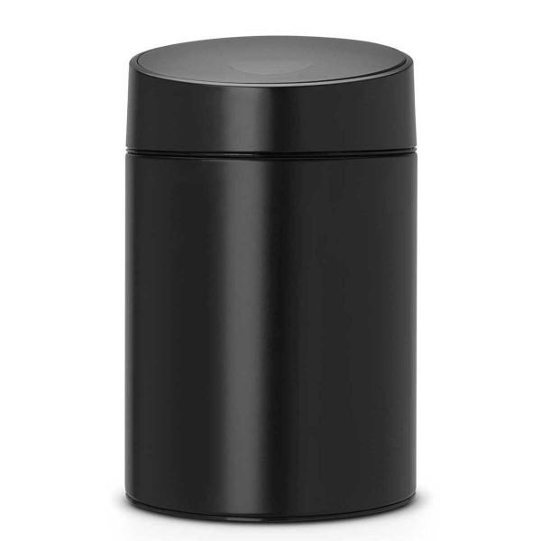 פח אשפה סלייד כולל תלייה 5 ליטר שחור Brabantia Y483189