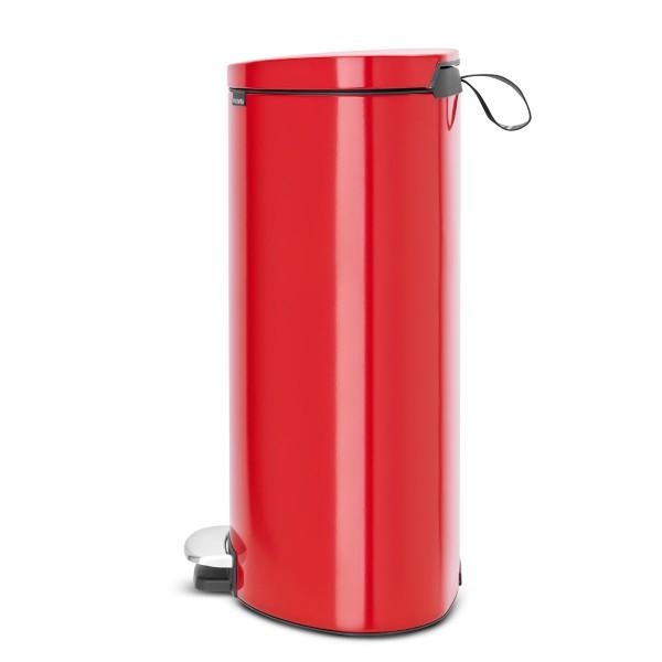 פח פדל אובלי גדול 40 ליטר brabantia צבע אדום Y-485220 באטיקו BATICO 2