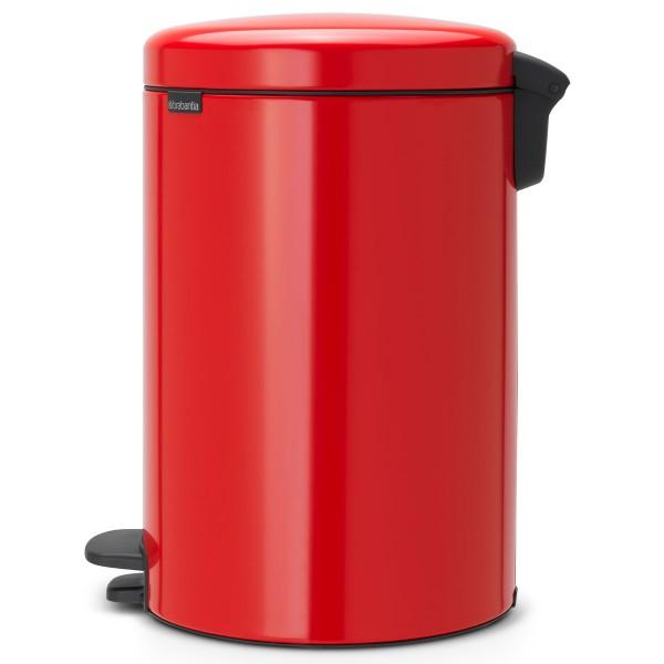 פח פדל לשירותים 20 ליטר אדום NewIcon Y-111860 באטיקו BATICO 6