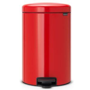 פח פדל למטבח NewIcon – צבע אדום 20 ליטר BRABANTIA Y111860
