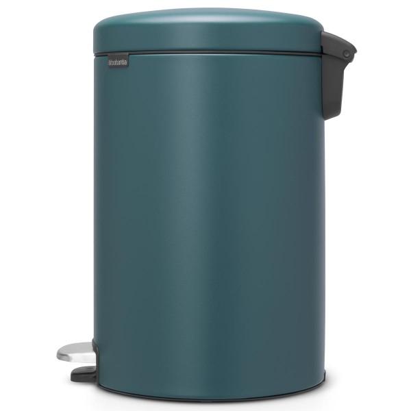 פח פדל לשירותים 20 ליטר כחול מינרלי NewIcon Y-115929 באטיקו BATICO 4