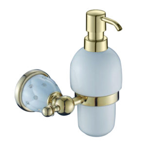 דיספנסר לסבון נוזלי זהב לבן  DIAMOND 4252G