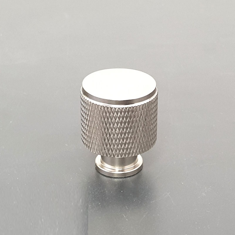 K9093M1 ידיות כפתור לארונות ומגירות 3 גדלים מוברשBATICO באטיקו