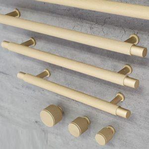ידיות ארוכות למטבח וריהוט R9093MG זהב מט ב-7 גדלים