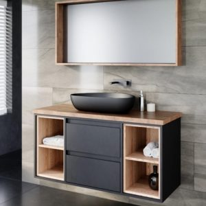 ארון אמבטיה תלוי אפוקסי קמליה