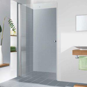 מקלחון חזית לפי מידה דלת נפתחת פנימה והחוצה 90 מעלות