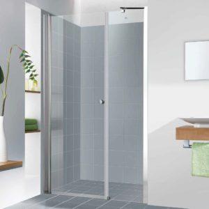 """מקלחון חזית קבוע ודלת עד 124 ס""""מ"""