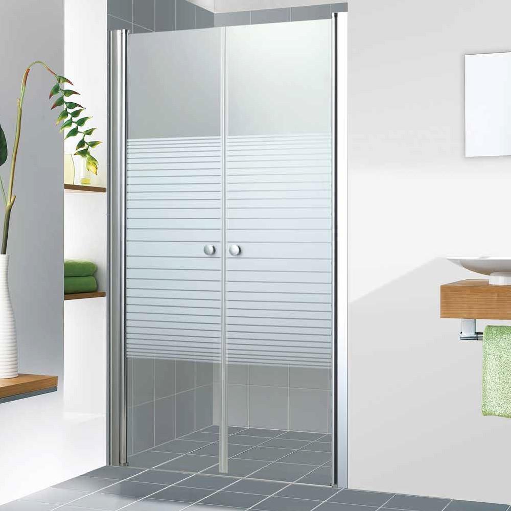 """מקלחון חזית 2 דלתות לפי מידה עד 175 ס""""מ"""